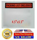 Packing List Enclosed Envelopes Invoice/Receipt Slips Clear Poly Pouches 1-10000