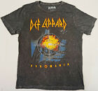 DEF LEPPARD T-shirt PYROMANIA Album Cover Distressed Licensed Adult Mens Tee New image