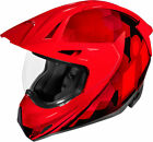 Icon Variant Pro ASCENSION Full-Face Helmet (Red) Choose Size