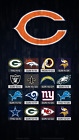 Chicago Bears Football Schedule 2019 Poster $8.99 USD on eBay