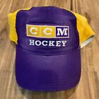 Los Angeles Kings CCM VTG Throwback Logo Fitted Hat Purple Golden Yellow $23.74 USD on eBay