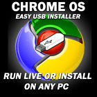 CHROME OS LIVE USB [32/64 Bit] 64GB HARDDRIVE [Install Run Repair PC]
