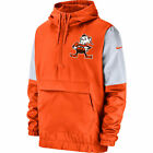 Cleveland Browns Mens Historic Logo Anorak Jacket Orange $85.0 USD on eBay