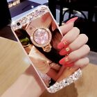 Glitter Luxury Women Bling Diamond Mirror Case Cover For iPhone XS Max 7 XR 6s