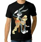 Bugs Bunny and Lola T-shirt Looney Tunes Tee Men's Women's Fashion Size S - 6XL image