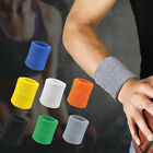 Unisex Sweat Band Terry Cloth Wrist Band Tennis Basketball Badminton Sport 2 Pcs