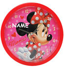 "Wall Clock - "" Disney Minnie Mouse "" - 25 cm Large - Very Quiet Watch - Analogue"