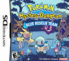 Nintendo DS Pokemon Mystery Dungeon: Blue Rescue Team no Case