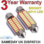 Interior / Number Plate Led Festoon 239 35mm 36mm Canbus Bulb In Pure White 4014