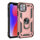 For Apple iPhone 11/11 Pro Max Shockproof Armor Stand Case Cover+Tempered Glass