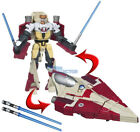 Star Wars Transformers Crossover Obi-Wan Kenobi Jedi Fighter Clone Pilot Y-Wing For Sale