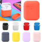 For Apple AirPods Case Protect Silicone Cover Skin AirPod Earphone Charger Cases $1.87 USD on eBay