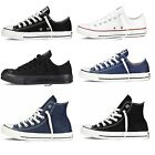 Mens Womens Converse Chuck Taylor All Star Low Ox High Top Trainers...