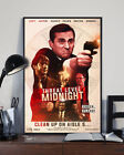Threat Level Midnight Movie Poster The Office Movie Film Tv Show (no Frame)