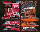 Set Of 8 Chicago Bulls/ Bears Cornhole Bean Bags Top Quality FREE SHIPPING on eBay