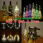Wine Bottle String Lights Starry Fairy Home Twinkle Decor For Party, Christmas