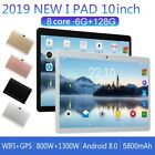 10 Zoll 6GB+128GB Tablet PC Dual Sim Android 8,0 Kamera GPS WIFI Phablet DE