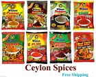 All Wijaya Spices From Ceylon -Chillie,Turmeric, Pepper, Curry Powders