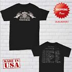 Radiohead Shirt North America Tour 2018 T-shirt Size S - 2XL Concert Black image