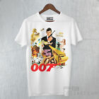 T-Shirt 007 James Bond Roger Moore the Man with the Golden Gun Film Cult Movie $17.55 AUD on eBay
