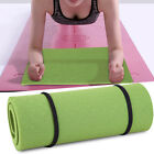 Non-slip Padded Exercise Mat Extra Thick Fitness Yoga Pilates Gym Workout