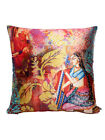 Set Of 2 Mult Colour Print Cushion Covers Sofa Decorative Home Décor 12