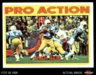 1972 Topps #254 John Hadl - Pro Action Chargers EX $1.8 USD on eBay
