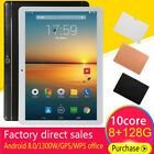 "10.1"" Inch 8g+128gb Tablet Pc Android 8.0 10core Bluetooth Pc 2 Sim Camera Wi-fi"