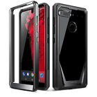 For Essential Phone PH-1 Case Shock Absorbing Protective Cover+Screen Protector