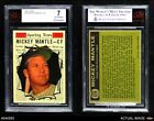 1961 Topps #578 Mickey Mantle - All-Star Yankees BVG 7 - NMBaseball Cards - 213