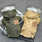 Kyпить Small Dog Winter Coat Jacket Waterproof Chihuahua Clothes Fur Collar for Puppy на еВаy.соm