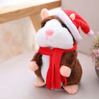 Cheeky Talking Hamster Mouse Christmas Plush Toy Repeats What You Say Xmas Gift
