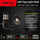 2x H8 H9 H11 60W LED Bulbs High Power For Fog Light Bulbs DRL Light Lamp Bulbs $35.0 USD on eBay