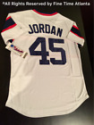 Michael Jordan Chicago White Sox 1982 1986 Mens What If Rookie Baseball Jersey