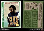 1978 Topps #63 Johnny Rodgers Chargers EX
