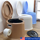 Kyпить 4 Colors Portable Toilet Seat Travel Camping Hiking Outdoor Indoor Potty Commode на еВаy.соm