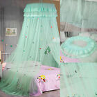 Modern Mosquito Net Bed Queen Size Room Bedding Canopy Round Top Bed Netting Kid image