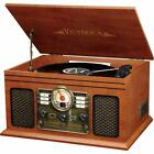 Bluetooth Home Stereo System With Turntable FM Radio CD Record Player PICK COLOR