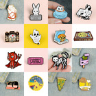 Pin Brooches Cute Ghost Baby Backpack Badges Hard enamel lapel Hat Bag Goth  image