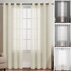 Kyпить Sheer Curtain Panels for Living Room Grommet Top Voile for Bedroom 2 Panels на еВаy.соm