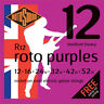 More images of Rotosound R12 Roto Purples Electric Guitar Strings Gauge 12-52