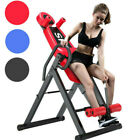 Heavy Duty Inversion Table Pain Relief Back Therapy Headrest Exercise Chair New image