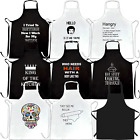 Funny Chefs Aprons Novelty Kitchen Birthday Baking Cooks Cooking Gifts Joke BBQ