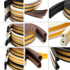 1 Pcs Draught Excluder Weather Strip Self Adhesive Jumbo Rubber Foam 3 Colors