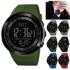 SKMEI 1403 Mens Watch Compass LED Digital Wrist Watches Outdoor Military Camping image