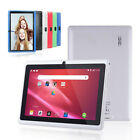"""7"""" Inch Android Tablet 4GB Quad Core Dual Camera bluetooth Wifi Kids Tablet"""