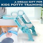 Baby Tddler training toilet seat safety potty stool ladder loo learning system image