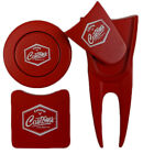 New Callaway Golf Tour Issue Customs Red Accessorie Pack Divot tool Ball marker