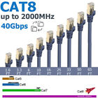 40Gbps Cat8 Ethernet Cable SFTP Super Speed RJ45 Network Lan Patch Cable Lot
