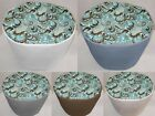 Canvas Brown & Teal Paisley Slow Cooker Cover